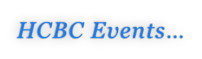 HCBC Events…